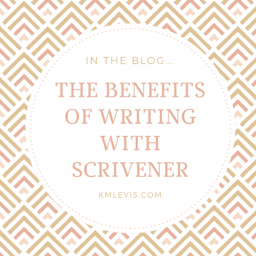 benefits using writing scrivener